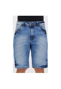 Bermuda Jeans Nicoboco Halifax Marinho