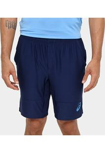 Shorts Asics Tennis Challenger 9In Masculino - Masculino