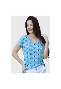 Camiseta Vibration Azul D Bell