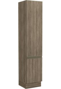 Paneleiro Alto Kappesberg Maxxi G749 50Cm 2 Porta Nogal