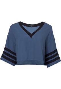 Camiseta Rosa Chá Sport Feminina (Insignia Blue, Gg)