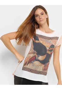 Camiseta T-Shirt Carmim Tucanos Feminina - Feminino