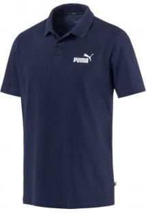 Camiseta Polo Masculina Essentials Pique