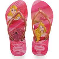 647b28bfd Chinelo Infantil Princesa Aurora Havaianas 0046