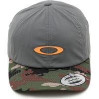 Boné Oakley Snapback 6 Panel Military Hat Cinza 1bb2decfe74