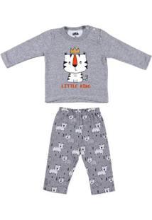 448e3ecb8 Pijama Para Menino Cinza Textura infantil | Shoes4you