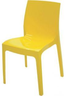 Cadeira Alice Polipropileno Cor Amarelo - 18745 - Sun House