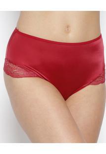 Calcinha Hot Pant Com Renda - Vermelhatriumph ee8bcb926bd