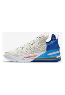 """Tênis Nike Lebron 18 """"Los Angeles By Day"""" Unissex"""