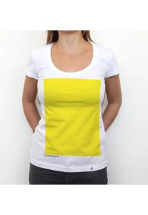 Yellow - Camiseta Clássica Feminina