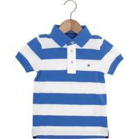 76fa38e0d Camisa Polo Azul Tommy Hilfiger infantil | Shoes4you