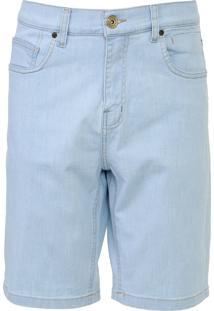 Bermuda Jeans Quiksilver Slim Artor Dela Azul - Kanui