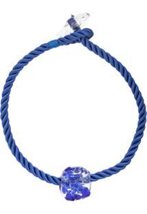 Maryam Nassir Zadeh Omen Embellished Necklace - Azul