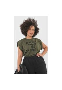 Camiseta Colcci Muscle Tee Verde