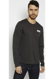 "Camiseta ""San Francisco Cal"" - Preta & Brancalevis"