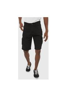 Bermuda Hang Loose Cargo Walk Pocket Preta