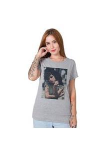Camiseta Feminina Stoned Amy Winehouse Ii Cinza