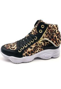 Tênis Sneaker Bmbrasil 250-02 Onça