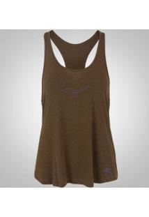 Camiseta Regata Com Proteção Solar Uv Mizuno Liberty - Feminina - Laranja  Escuro e6f6a0f6452