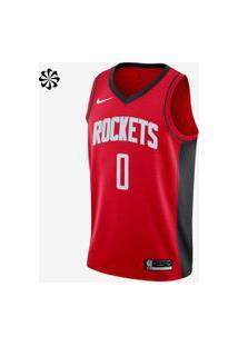 Regata Nike Russell Westbrook Rockets Icon Edition Masculina