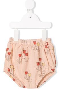 Bobo Choses Calcinha De Bebê 'Poppy Prairie' - Rosa