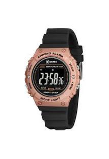 Relógio Feminino Xgames Xfppd058-Pxpx Digital 10Atm | X Games | Preto | U