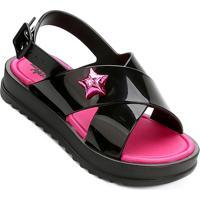 b4a97735398ff Netshoes. Sandália Infantil Grendene Larissa Manoela Flat Power Fashion  Feminina ...