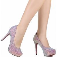 28528b6eed Sapato De Noivas Scarpin Zariff Salto Alto