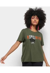 Camiseta Cantão Local Revolution Love Feminina - Feminino