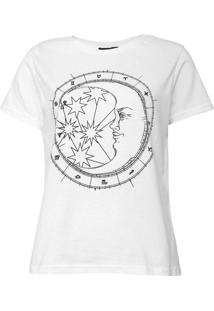 Camiseta Fiveblu Signos Branca