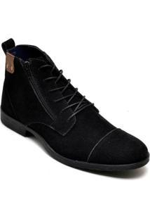 Bota Dress Boot Sandro&Co Eco Canyon Broklin Suede Masculina - Masculino