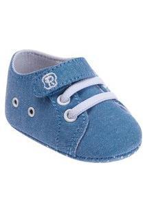 Sapato Infantil Jeans Masculino Pimpolho