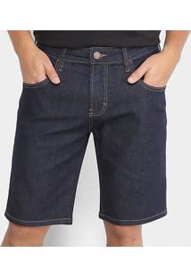Bermuda Jeans Slim Forum Paul Masculina - Masculino
