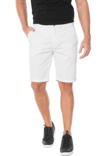 Bermuda Jeans John John Reta Tepla Branca