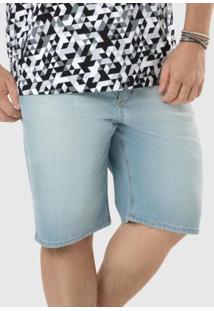 Bermuda Azul Jeans Comfort Tradicional Malwee