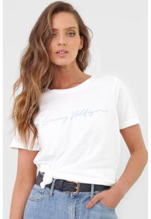 Camiseta Tommy Hilfiger Alissa Branca