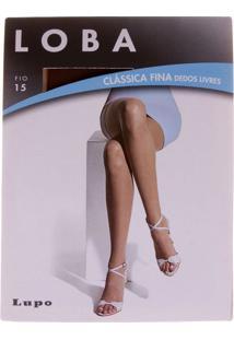 Meia Calça Loba Clássica Dedos Livres Fio 15