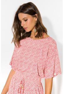 T-Shirt Estampada Lança Perfume Tshirt Vermelho