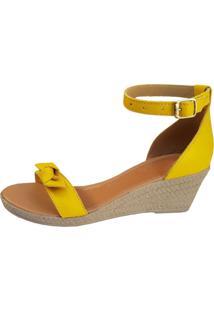 872d18717 Sandália Conforto Ouro Amarelo feminina | Shoes4you
