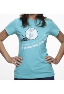Camiseta C1C Alavanca Turquesa