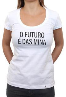 O Futuro É Das Mina - Camiseta Clássica Feminina