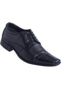 Sapato Social Preto Actual