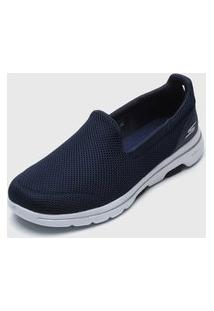 Slipper Skechers Go Walk 5 Azul-Marinho