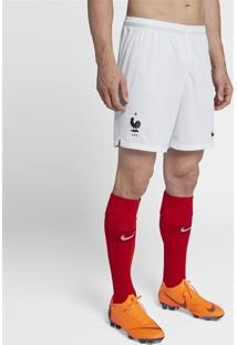 Shorts Nike França I 2018 Torcedor Masculino