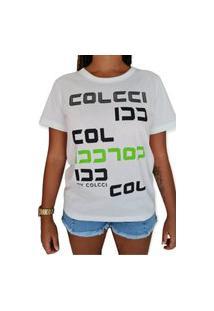 Camiseta Estampada Colcci Off White