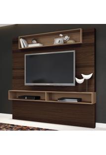 Painel Para Tv Ággio 1.8 Mocaccino/Macchiato - Hb Móveis