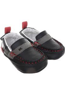Sapato Masculino Bebê Kea - Masculino-Preto