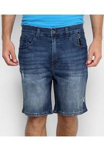 Bermuda Jeans Ellus 2Nd Floor Kyoto Elastic Bruno Masculina - Masculino