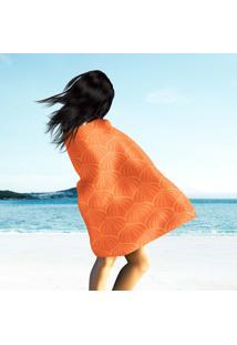 Toalha De Praia / Banho Element Orange
