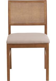 Cadeira Dandara - Bege